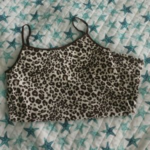 Justice Cheetah Print Camisole